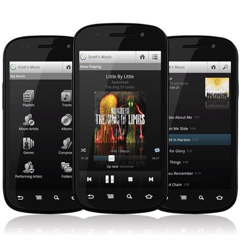 player for android phone jamcast player lets you your on your android phone anytime anywhere android app