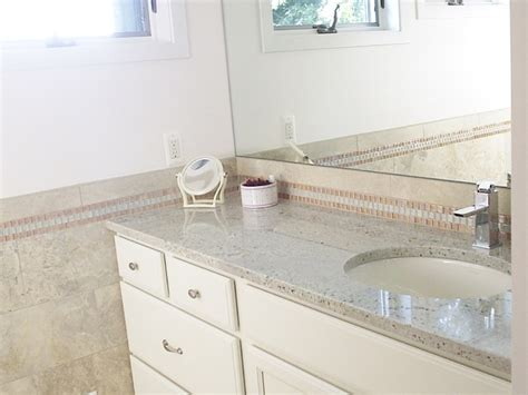 Universal Design Kitchens by Bianco Romano Granite Bathroom