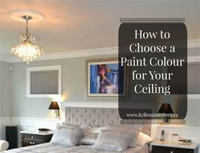 what color to paint ceiling how to choose the best paint colour for your ceiling that either matches your wall color or trim