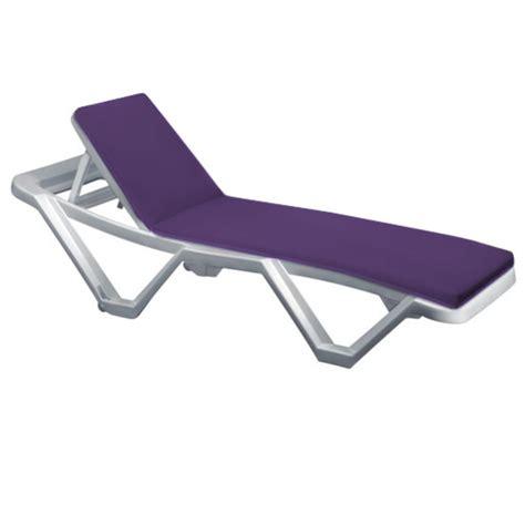 Sun Lounger Mattress by Outdoor Recliner Cushion Pads For Resol Master Marina