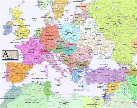 interactive map of europe interactive maps of europe