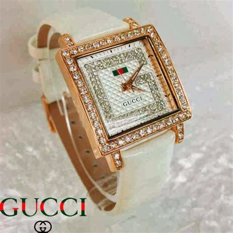 Jam Tangan Gucci Saga White Leather Murah warung jam tangan jam tangan wanita murah holidays oo