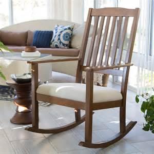 Padded Rocking Chairs For Nursery Belham Living Upholstered Mission Wood Nursery Rocker Weathered Espresso Indoor Rocking