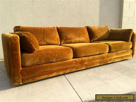 70s couch vintage velvet sofa street scene vintage how to style the
