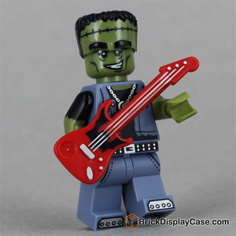 Lego Original Minifigure Rocker Rock Guitar Series rocker lego 71010 minifigures series 14 monsters