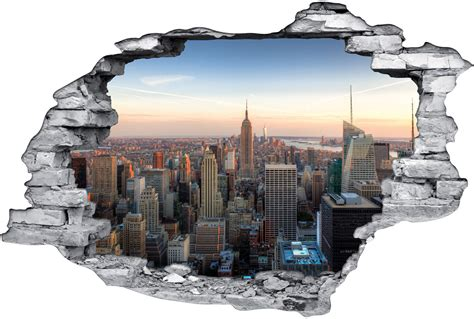 Trendwatch Trompe Loeil by Stickers Trompe L Oeil 3d New York Des Prix 50 Moins