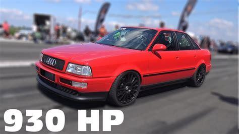 Audi 80 Quattro by 930 Hp Audi 80 Vr6 Turbo Quattro 0 285 Km H Top Speed Run