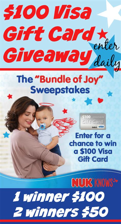 Walmart 1000 Gift Card Confirmation - 100 visa gift card giveaway 1 00 off nuk 174 pacifiers nukknows