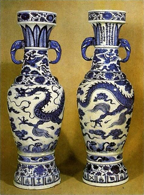 Temple Vase Yuan Dynasty by East China South Korea 1300 Present At