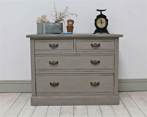 Distressed Chest Of Drawers by Distressed Edwardian Painted Chest Of Drawers By