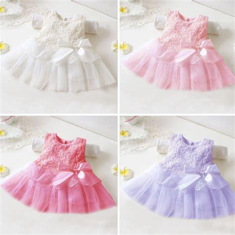 newborn baby girls tutu dress infant toddler skirt