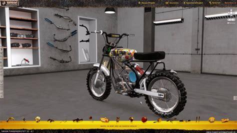 simson tuning werkstatt 3d simson tuning werkstatt 3d i cross moped bauen i