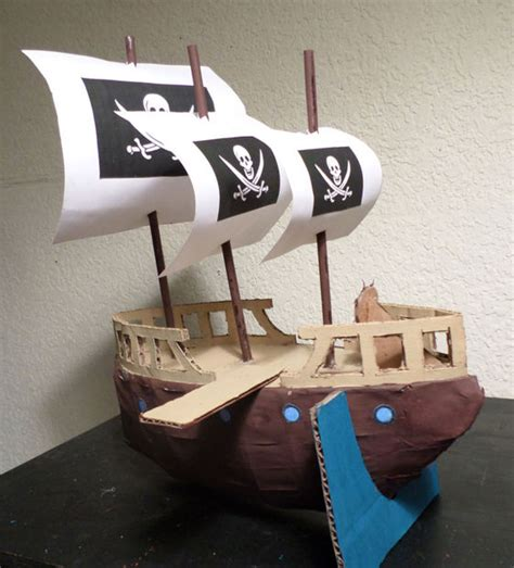 como hacer un barco grande c 243 mo hacer un barco de cart 243 n con velas y tabl 243 n askix