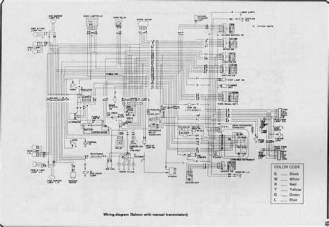 wiring diagram for nissan 1400 bakkie 7 nissan