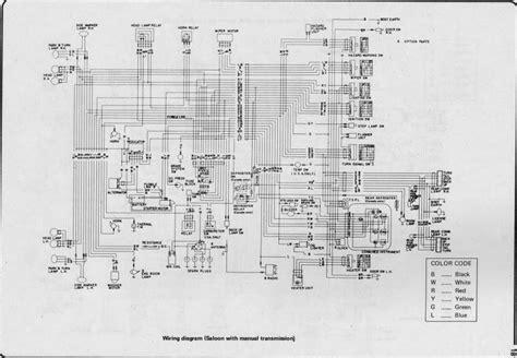 wiring diagram for nissan 1400 bakkie 7 nissan