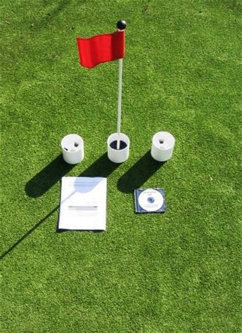 backyard putting green accessories practice putting green accessory kits for golf putting