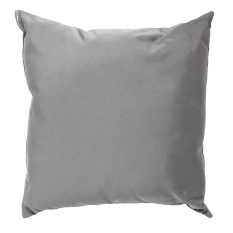 charcoal grey sunbrella outdoor throw pillow