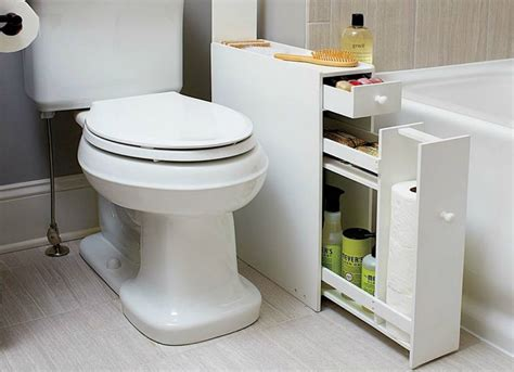 narrow bathroom cabinet bathroom storage ideas 10