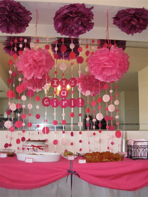 Themes Girl Baby Shower | girl baby shower table ideas photograph baby girl shower i