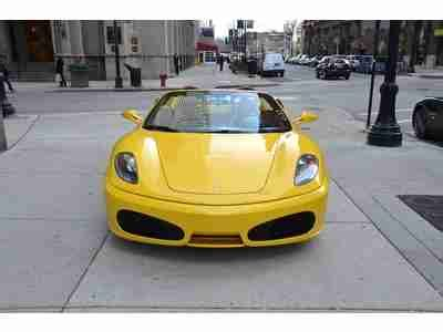 buy car manuals 2007 ferrari f430 parking system buy used 2007 ferrari f430 spider 6 speed manual yellow with tan 1 owner car in chicago