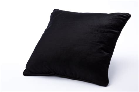 Black Pillows by Black Pillow Rental Encore Events Rentals