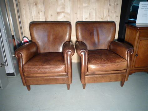 lederen banken en stoelen tweedehands lederen stoelen en banken lounge atelier