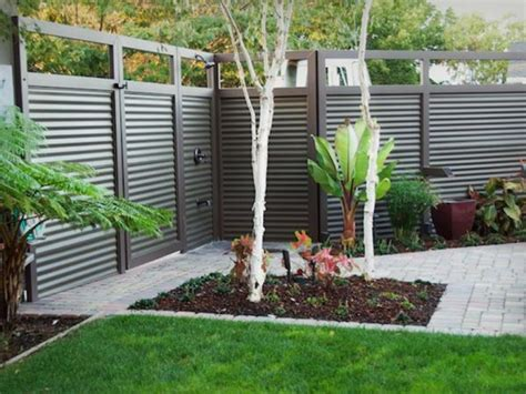 7 modern fence designs for your modern home iroonie