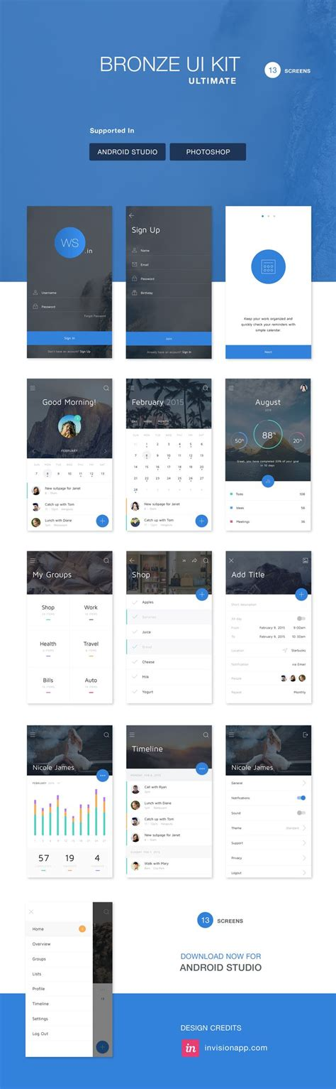 android layout design photoshop 17 best images about ws design ready xml on pinterest