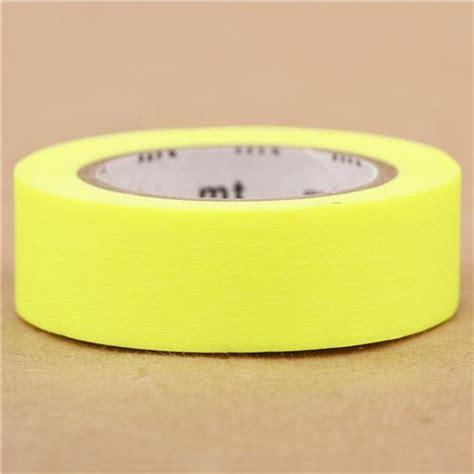 Washitape Country Yellow mt washi masking deco neon yellow washi masking deco stationery shop