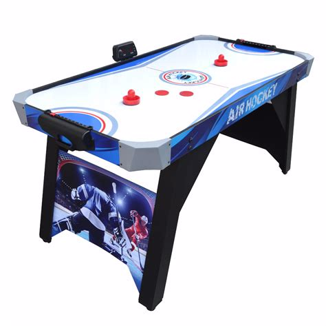 hockey air hockey table warrior 5 ft air hockey table pool warehouse