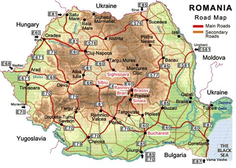 romania map with cities romania cities map