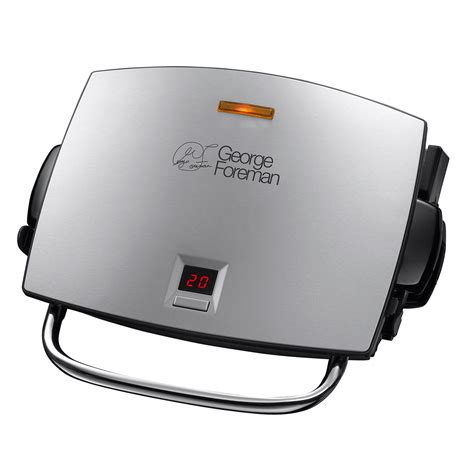 George Foreman Mp3 Ready Grill by George Foreman 14525 Review Housekeeping Institute