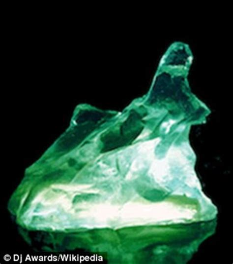 what color is kryptonite scientists create real kryptonite crystals using