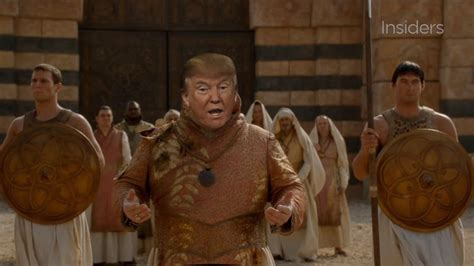 donald trump game donald trump takes on westeros in hilarious game of