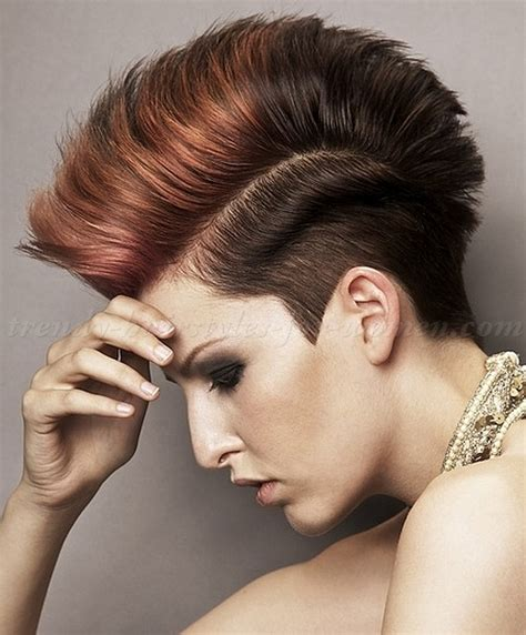 faux hawk hairstyles for women over 40 short hairstyles short haircut faux hawk hairstyle for