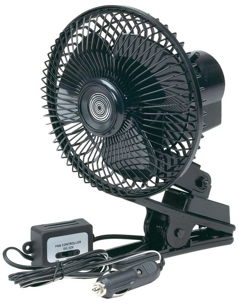 Go Gear 12 Volt Oscillating Fan Hop77570