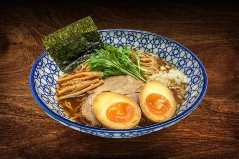 Tamago Ramen kodawari pops up with parisian ramen by former air pilot at new york city s ramen lab
