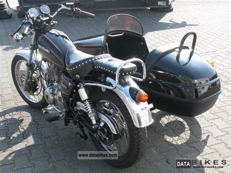 Sidecar Suzuki Motorcycle 1987 Suzuki Gn 250 Team