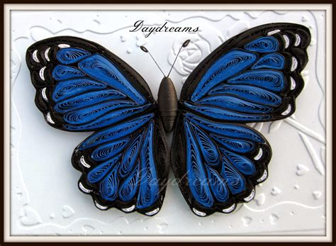 tutorial quilling butterfly daydreams quilled butterflies