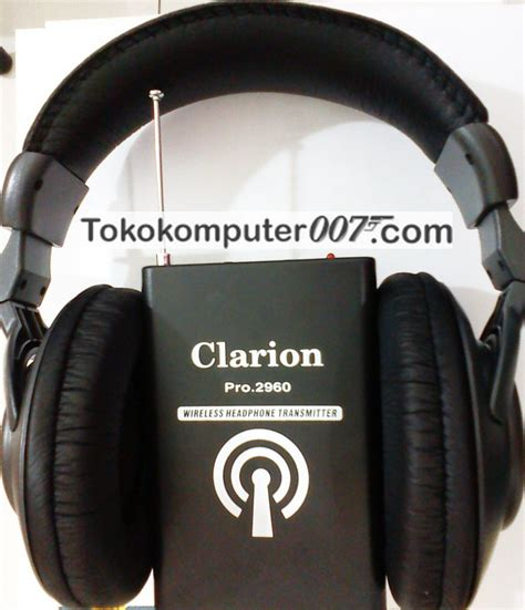 Headphone Tanpa Kabel headphone wireless murah jarak jauh 30 meter tokokomputer007