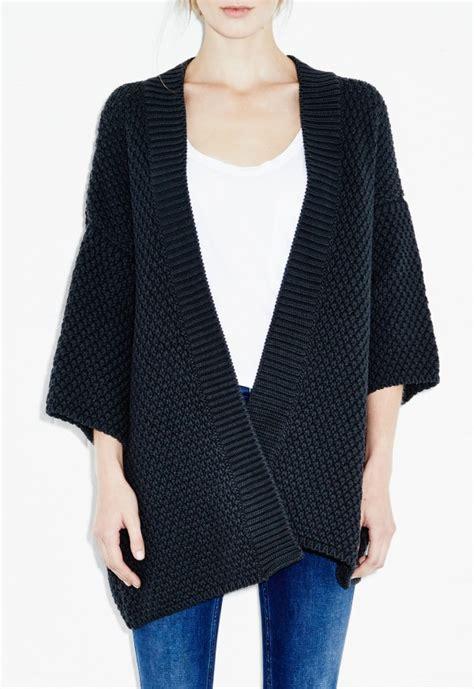 knitting pattern kimono sweater knitted kimono wardrobe mag
