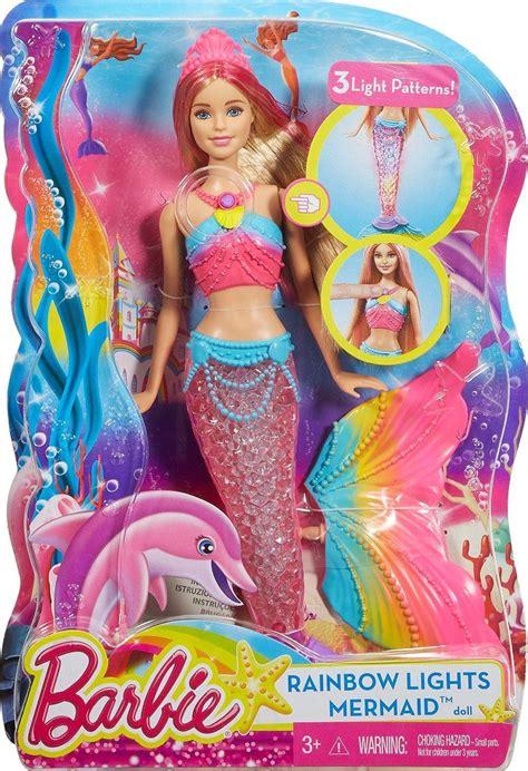 color magic mermaid doll rainbow lights mermaid doll