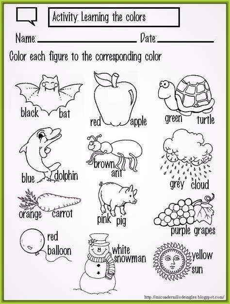 imagenes en ingles para niños para colorear imagenes de frutas con nombres en ingles para colorear