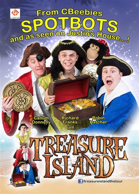 treasure island bbc childrens cbeebies spotbots stars in treasure island playhouse whitely bay