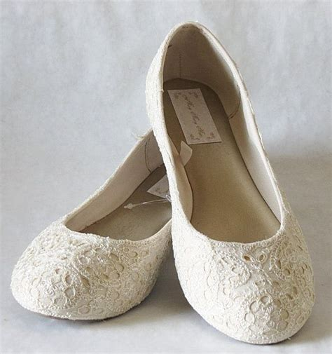 Ivory Wedding Flats For by 25 Best Ideas About Lace Wedding Flats On
