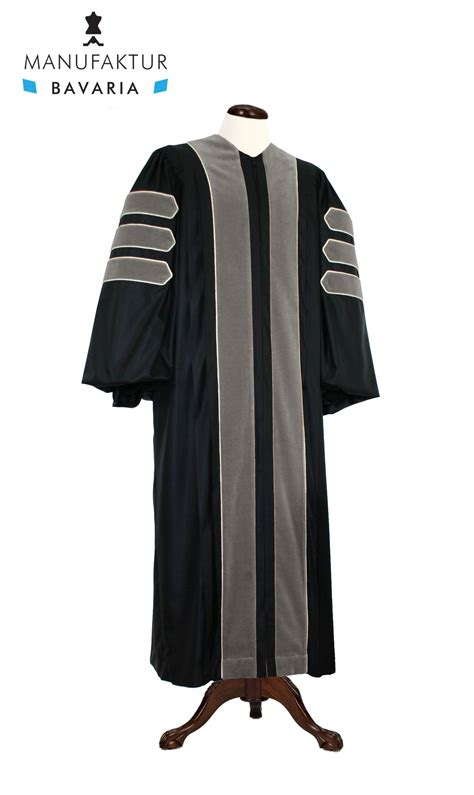 robe shop deluxe doctoral of veterinary science academic gown for
