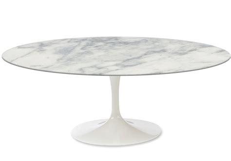 saarinen oval coffee table marble knoll milia shop