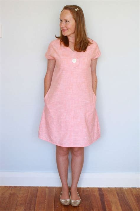 afternoon blouse  shift dress womens  sewing