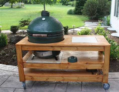dimensions for an xl table big green egg egghead forum