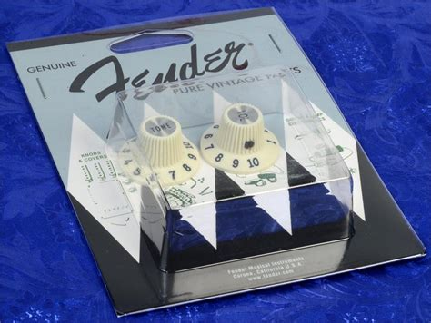 Witch Hat Knobs Jazzmaster by Fender Vintage 65 Jazzmaster Witch Hat Knobs Set Of